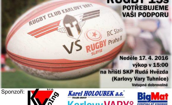 Rugby utkání 2. ligy ČRU VaryOrs vs. RC Kralupy nad Vltavou
