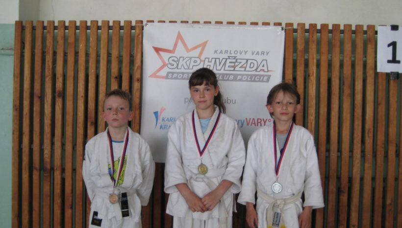 Mezinárodní VC  pro mladší a starší žáky v judo Karlovy Vary