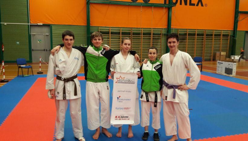 Národní pohár JKA karate žáků – 18.3.2017 Praha