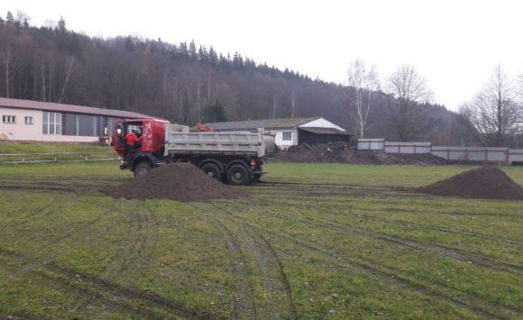 Rekonstrukce hřiště v areálu SKP