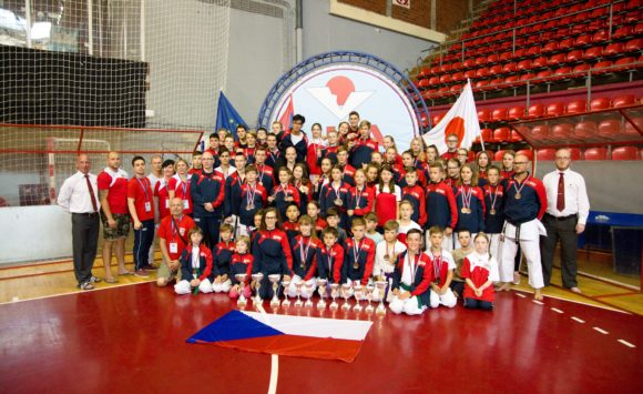 ME JKA karate dětí a mládeže
