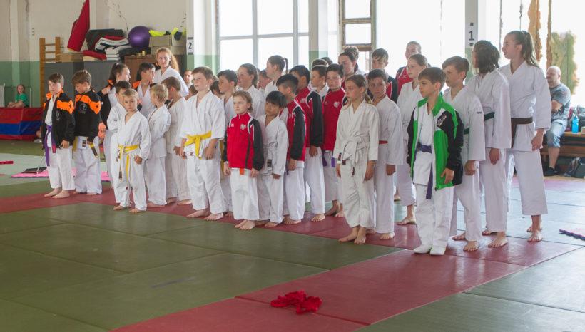 Krajský přebor karate