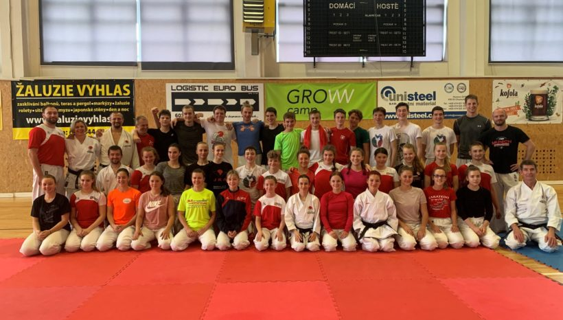 Opět trénujeme naplno – soustředění karate